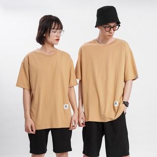 Hình ảnh [Mã FAMAYMA giảm 10K đơn 50K] Áo thun Unisex N7 Basic Tee phông trơn nam nữ tay lỡ oversize form rộng 12 màu-5