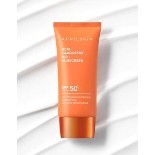 Kem Chống Nắng Dưỡng Ẩm Aprilskin Real Carrotene Air Sunscreen SPF 50+ PA++++