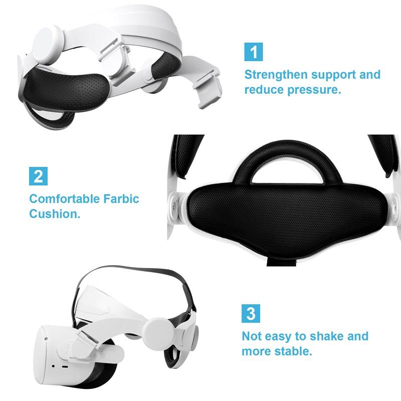 Dây Đeo Đầu Cho Kính Thực Tế Ảo Oculus Quest 2 Vr ,Increase
