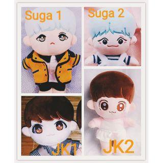 Only body doll (búp bê thần tượng) BTS Suga và Jungkook 20cm [hàng order] (lướt sang phải xem ảnh thật)
