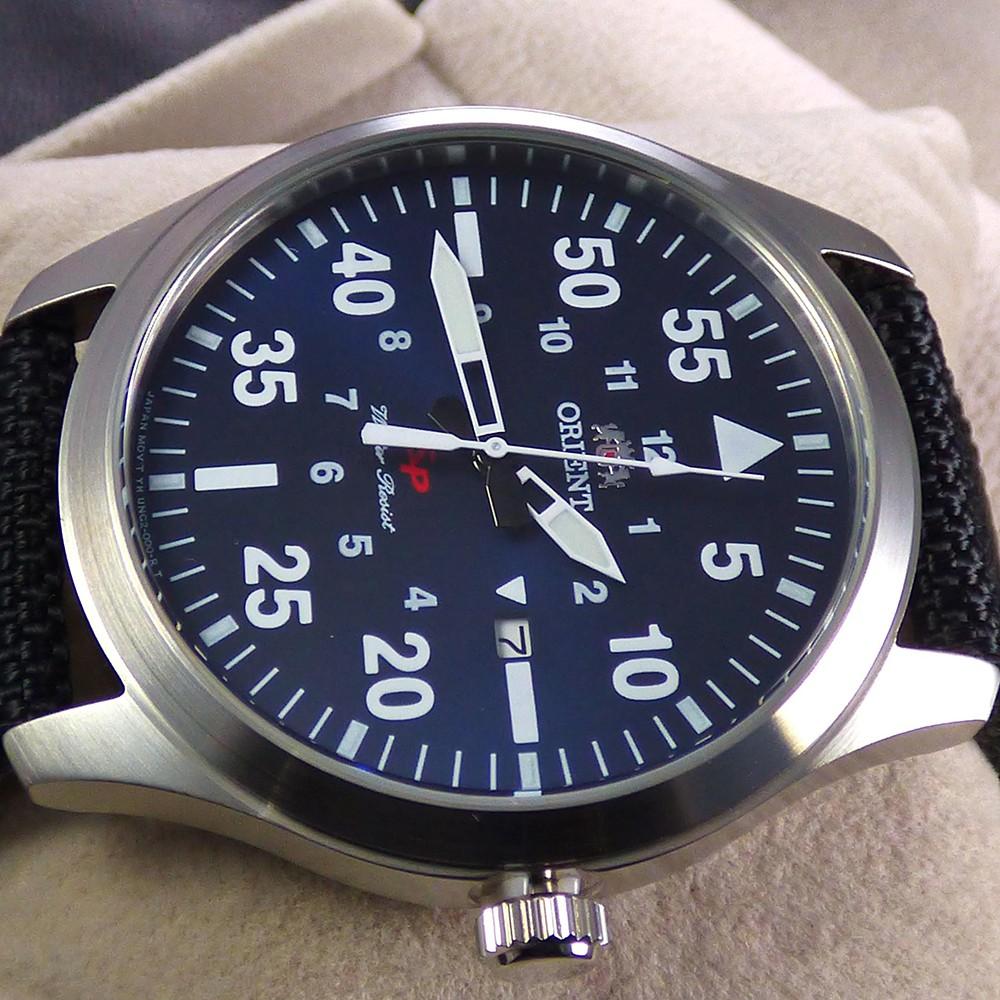 Đồng hồ Nam Orient FUNG2005D0 , Chính hãng full box , Quartz , Dây dù