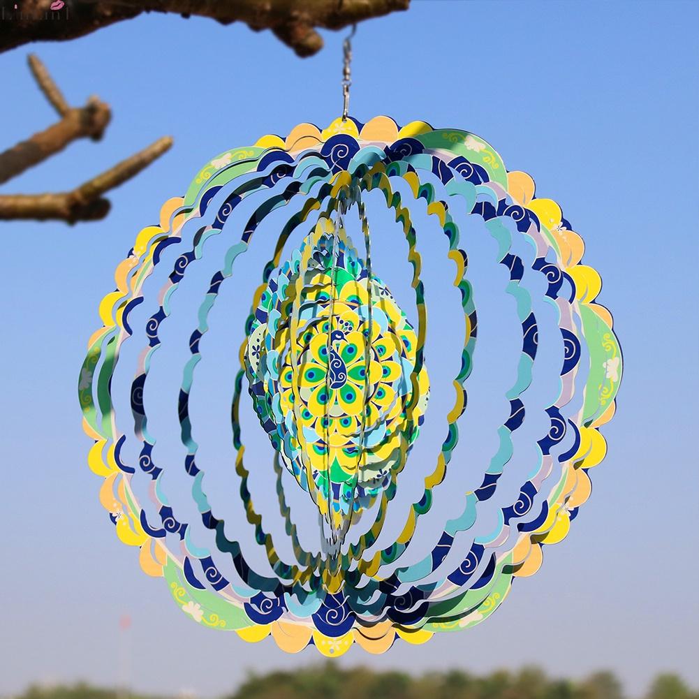 Con quay đồ chơi Spinner 360 độ° Mô hình đèn 3D bằng thép không gỉ trang trí nhà cửa