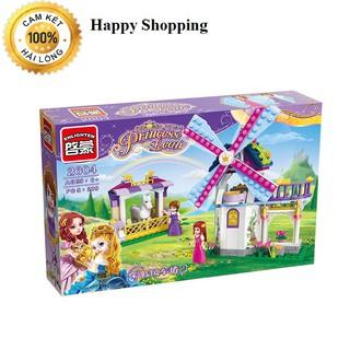 Đồ Chơi Lego Princess Leah 2604-Cối xay gió cầu vồng