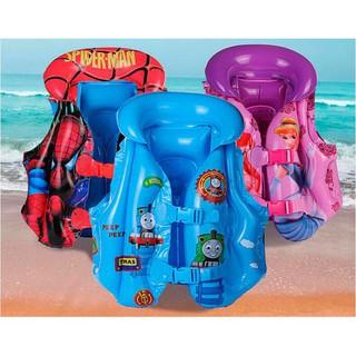 Áo phao bơi trẻ em hoạt hình (đủ size)