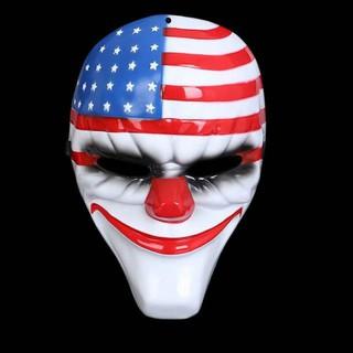 Mặt nạ Payday. Hóa trang Halloween Ctot Tthị