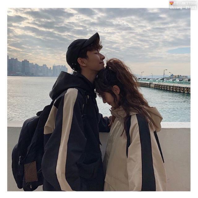 Áo Khoác Kaki Couple Cặp Siêu Đẹp #AKTT004 (Kèm Video, Hình Chụp Thật)