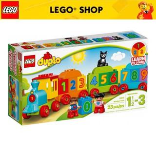 [Mã TOYLEGO1 giảm 10% đơn 200K] LEGO DUPLO Tàu Lửa Học Số Mới 10847 (23 chi tiết)
