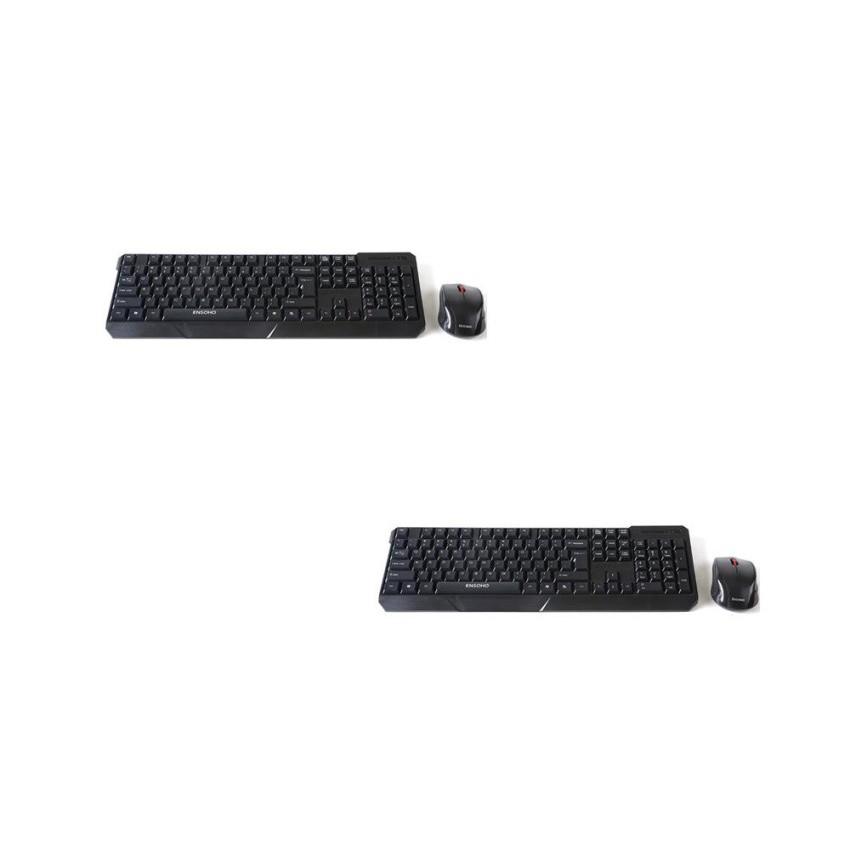 Bộ 2 Bộ bàn phím chuột không dây Ensoho E-113CB - 3157504 , 590862715 , 322_590862715 , 560000 , Bo-2-Bo-ban-phim-chuot-khong-day-Ensoho-E-113CB-322_590862715 , shopee.vn , Bộ 2 Bộ bàn phím chuột không dây Ensoho E-113CB