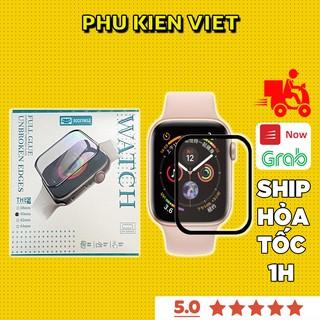 Cường lực apple watch dẻo full màn Chính hãng ROCKYMILE Series 6/5/4/3/2/1 Size 38 40 42 44mm - Phụ kiện Việt