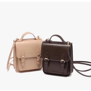 Túi xách nữ đeo chéo 🔥FREESHIP🔥 (Mới) Túi xách nữ đeo chéo mini đựng điện thoại hai khóa phong cách Hàn Quốc