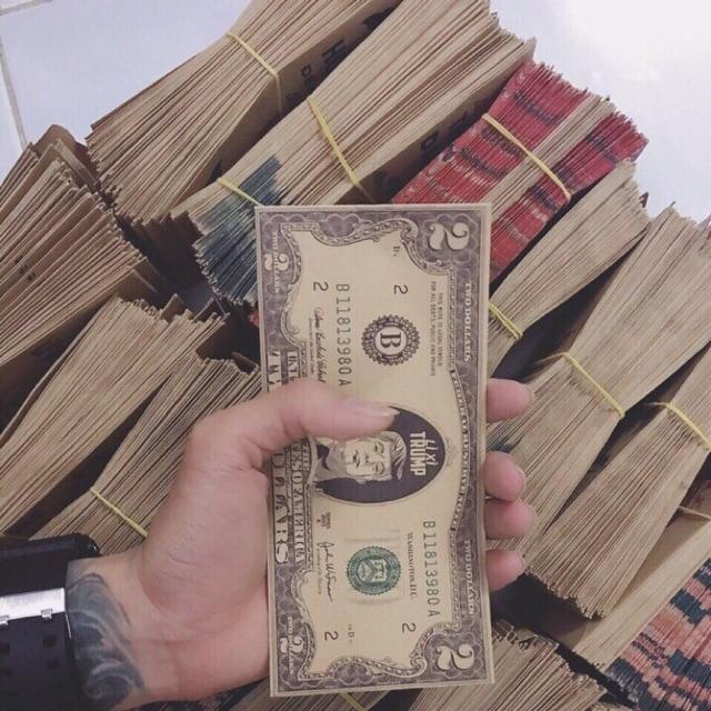 10 Bao lì xì đồng 2$ may mắn