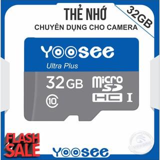 [Mã ELFLASH5 giảm 20K đơn 50K] Thẻ nhớ YooSee 32GB cao cấp – chuyên dụng cho camera