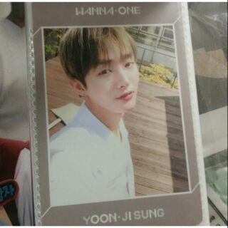 Card JiSung Lean On Me