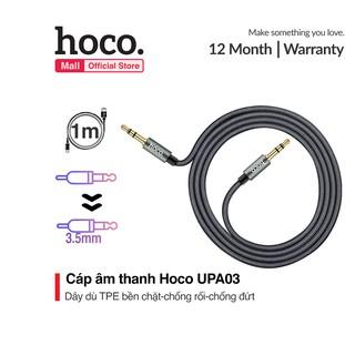[Mã 2404EL10K giảm 10K đơn 20K] Cáp âm thanh jack 3.5mm Hoco UPA03 AUX dài 1m