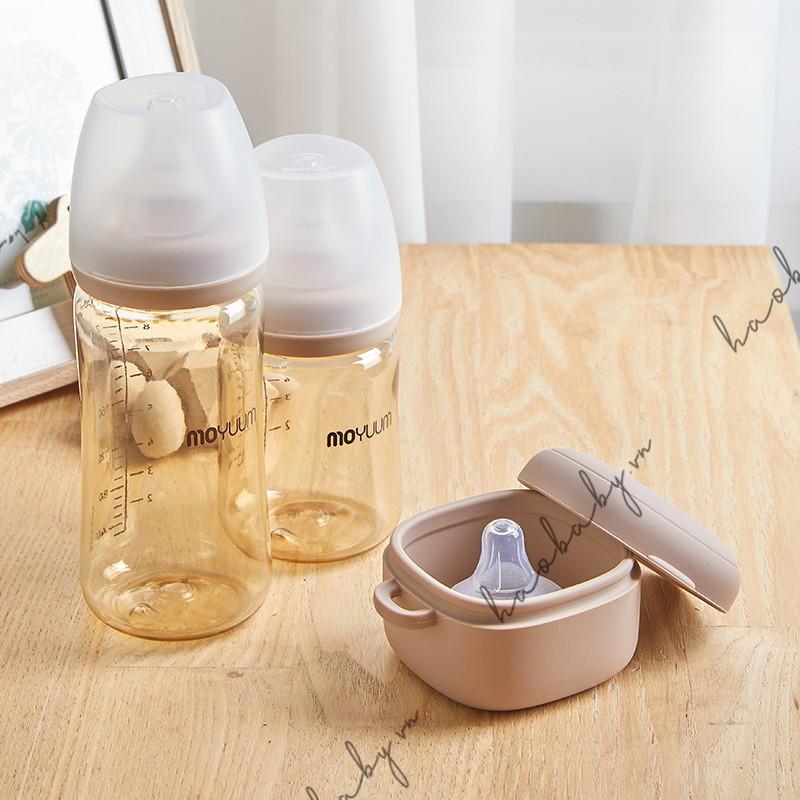 [Mã 267FMCGSALE giảm 8% đơn 500K] Bình sữa Moyuum Hàn Quốc cao cấp 170ml & 270ml