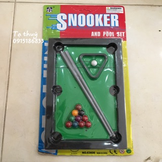 Yêu Thích[Rẻ Vô Địch] Bộ Đồ chơi Bàn Bi-a Snooker cho bé