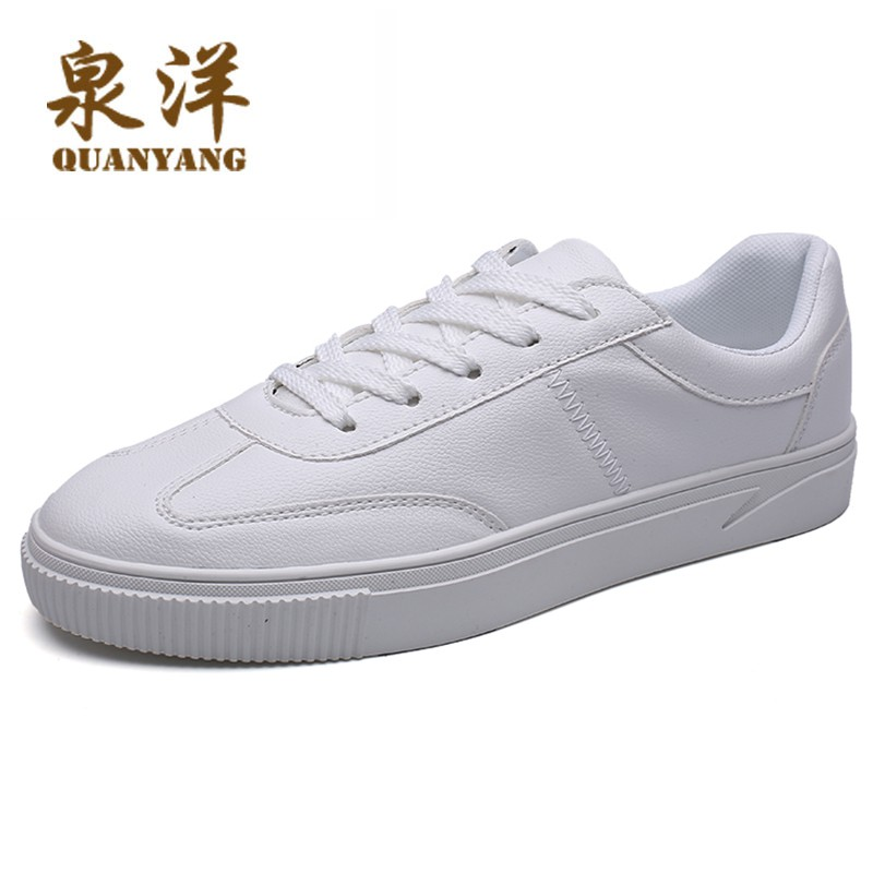 Men's white shoes Korean version of the trend of shoes men's wild sports shoes s
