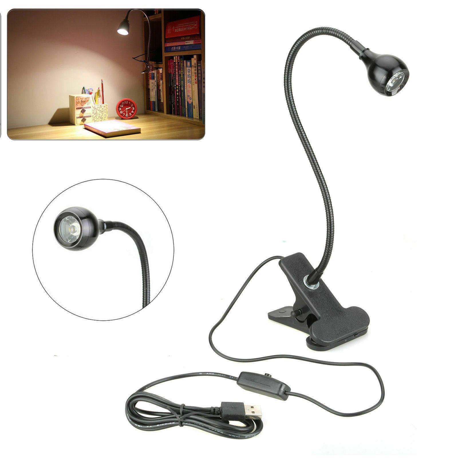 Đèn LED kẹp bàn linh hoạt chất lượng