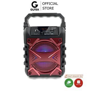 Loa bluetooth karaoke mini không dây Gutek S409