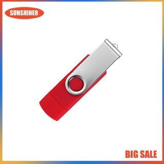 USB OTG 2 cách sử dụng bằng hợp kim kẽm tiện dụng cho điện thoại