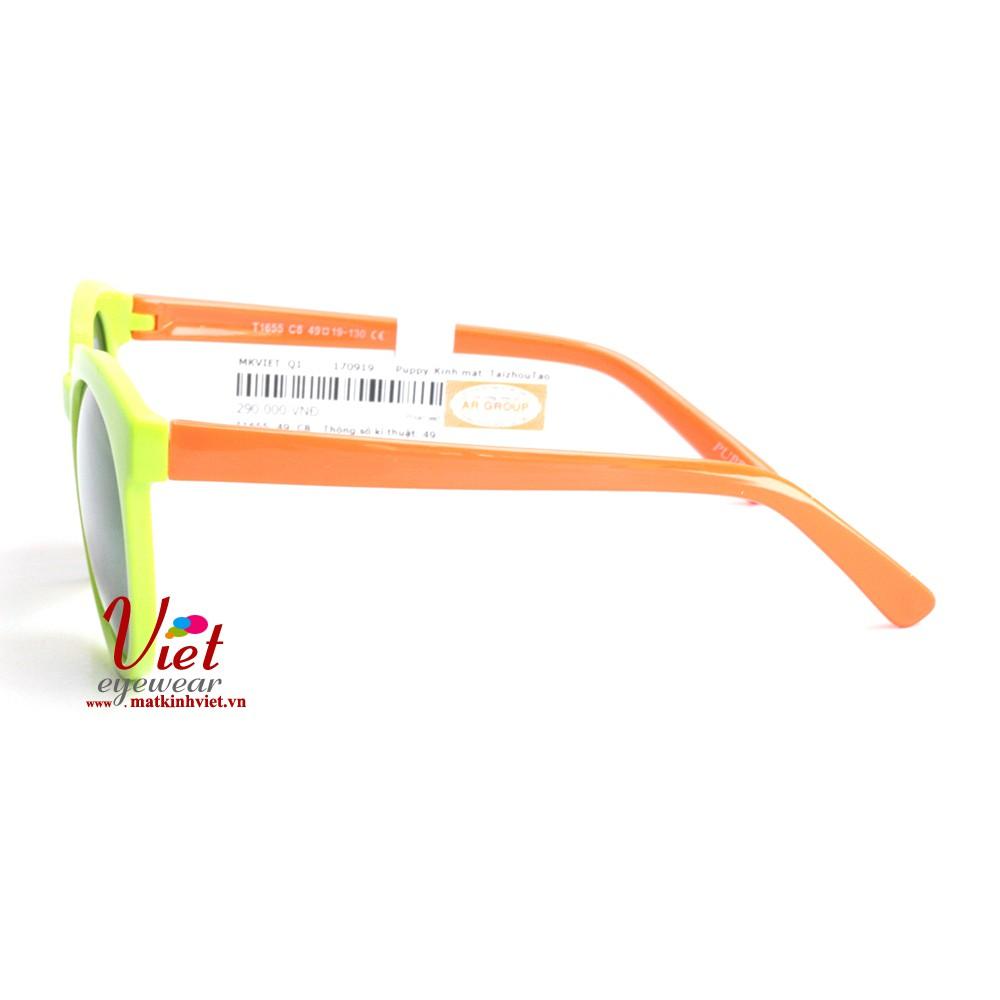 T1655-C8 Gọng kính trẻ em chính hãng bảo vệ mắt bé. Kiểm định Y tế