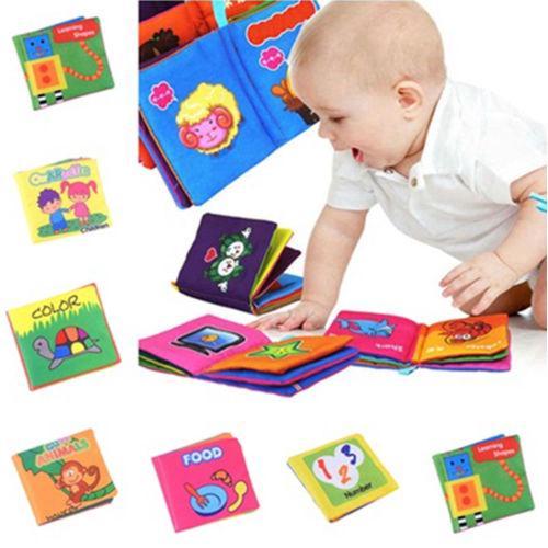 Bộ đồ chơi 7 món sách vải mềm phát triển trí thông minh cho bé