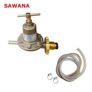 Van gas cao áp công nghiệp SAWANA SW-999 + 1,5m dây dẫn gas cao cấp