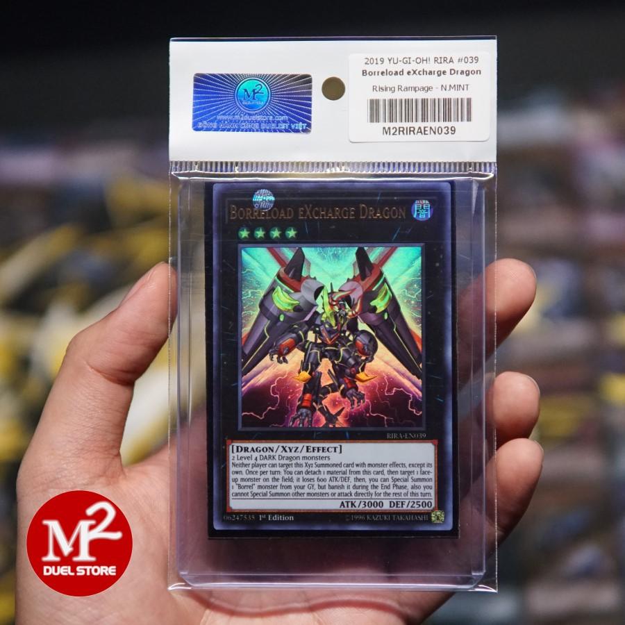 Thẻ bài yugioh Borreload eXcharge Dragon - Ultra Rare - lá bài Collector Pack của M2 DUEL