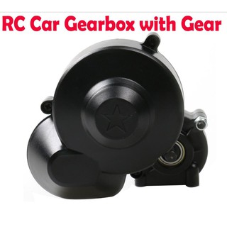 Center Gearbox Transmission Box+Gear for Axial SCX10 II 90046 90047 1/10 RC Car