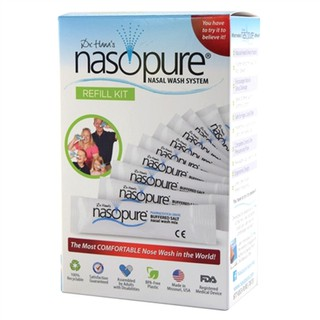 Muối Rửa Mũi Nasopure – Refill Kit (hộp gồm: 40 tuýp muối 3,75g)
