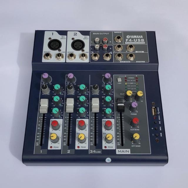 Mixer f4 yamaha k kết nối blutooth