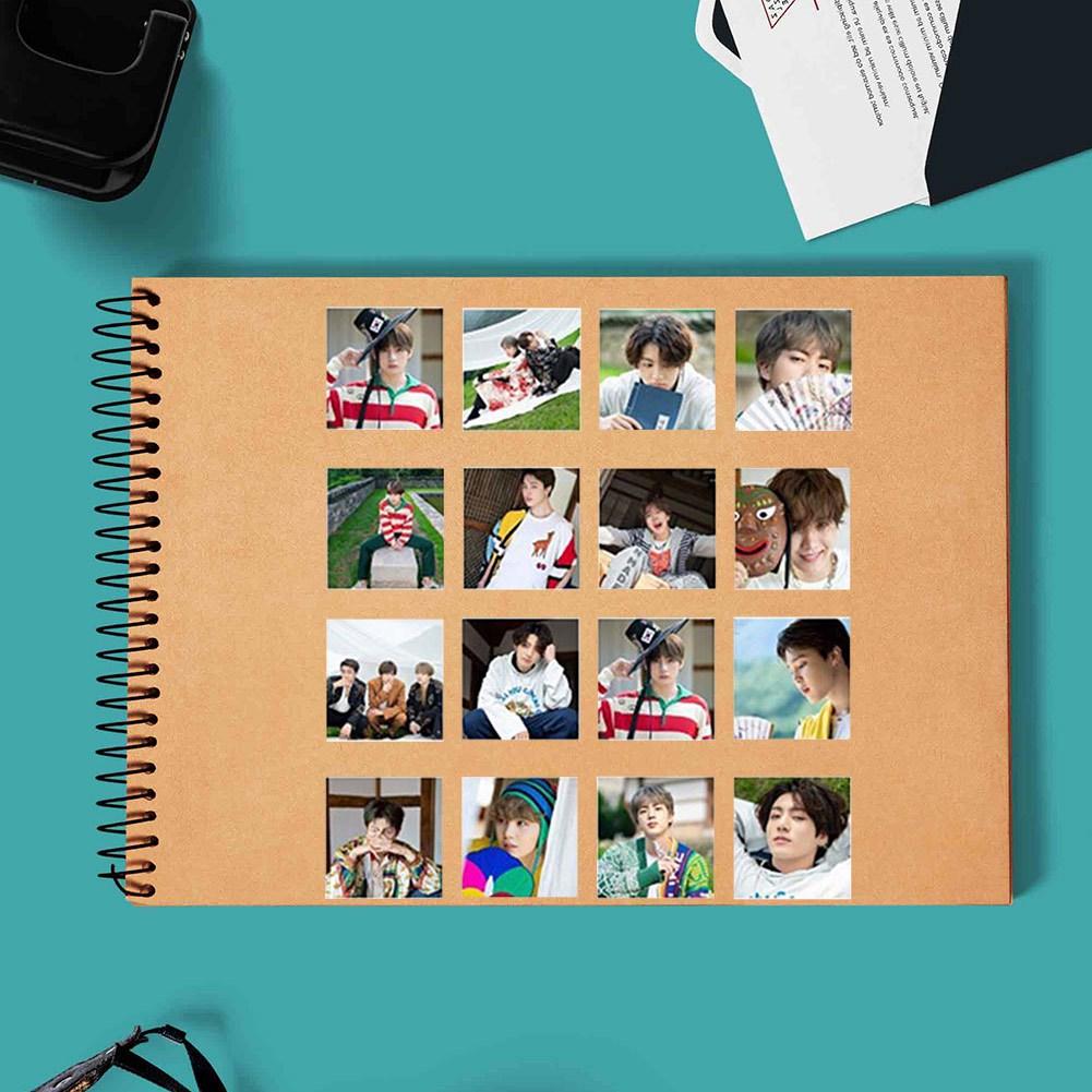 Set 40 Tấm Thẻ In Hình Nhóm Nhạc Bts