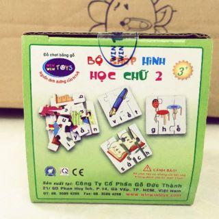 Ghép hình học chữ winwintoys 2 – tiếng Việt