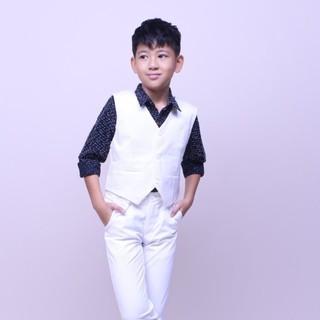 Áo ghile bé trai thanh lịch để đi tiệc, chụp hình và biểu diễn trong các buổi đặc biệt thoải mái- Jadiny