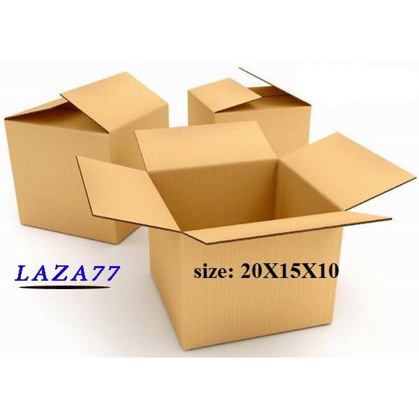 Hộp carton 20x15x10 Combo 50 Hộp - 2490162 , 746299654 , 322_746299654 , 189000 , Hop-carton-20x15x10-Combo-50-Hop-322_746299654 , shopee.vn , Hộp carton 20x15x10 Combo 50 Hộp