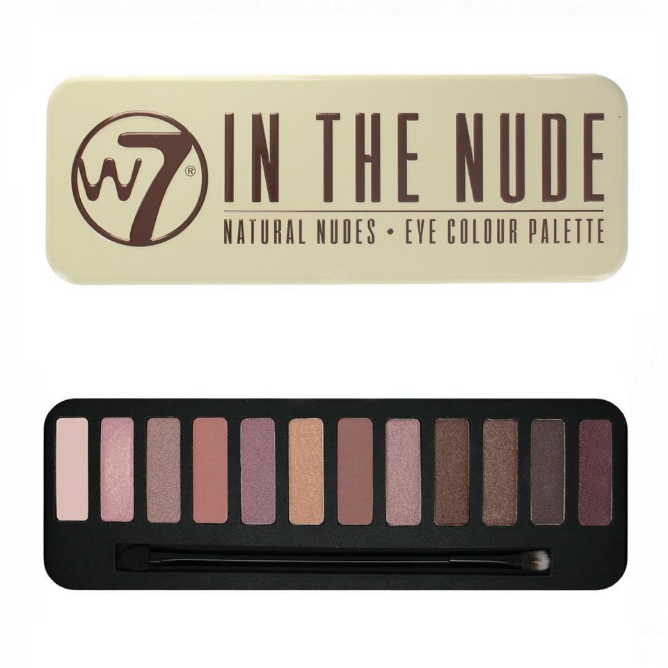 Bảng Phấn Mắt W7 Colour Me Nude Natural Nudes Eye Colour Palette