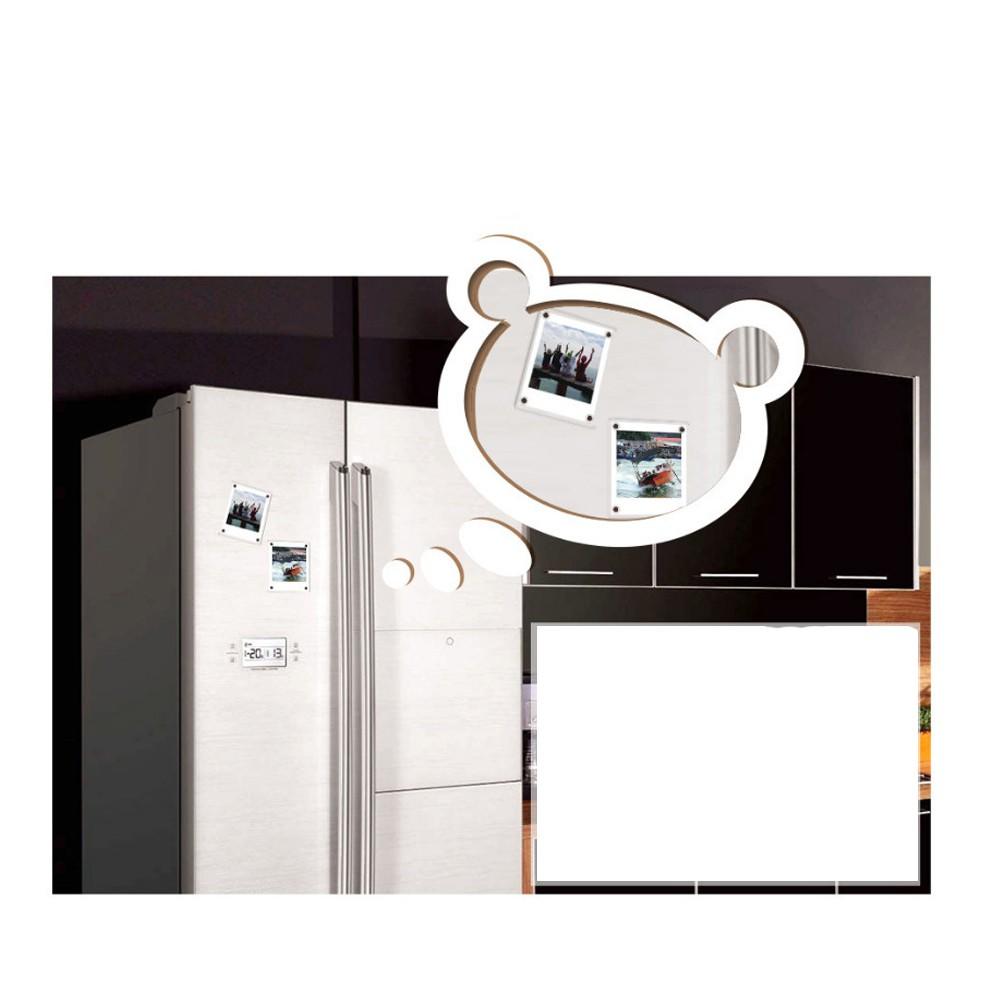 Khung Gắn Nam Châm Acrylic Cho Tủ Lạnh Fujifilm Instax Square Sp3 Sq6 Sq10 Sq20