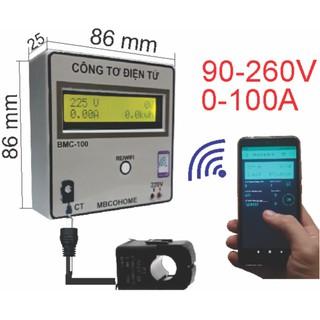 Công Tơ Điện Tử Wifi BMC-100
