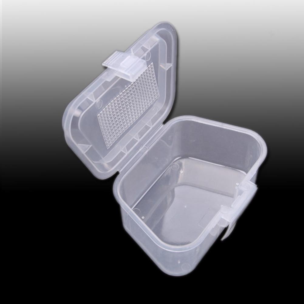 Earthworm Fishing Tackle Lure Bait Box Pocket Plastic Portable Storage Case