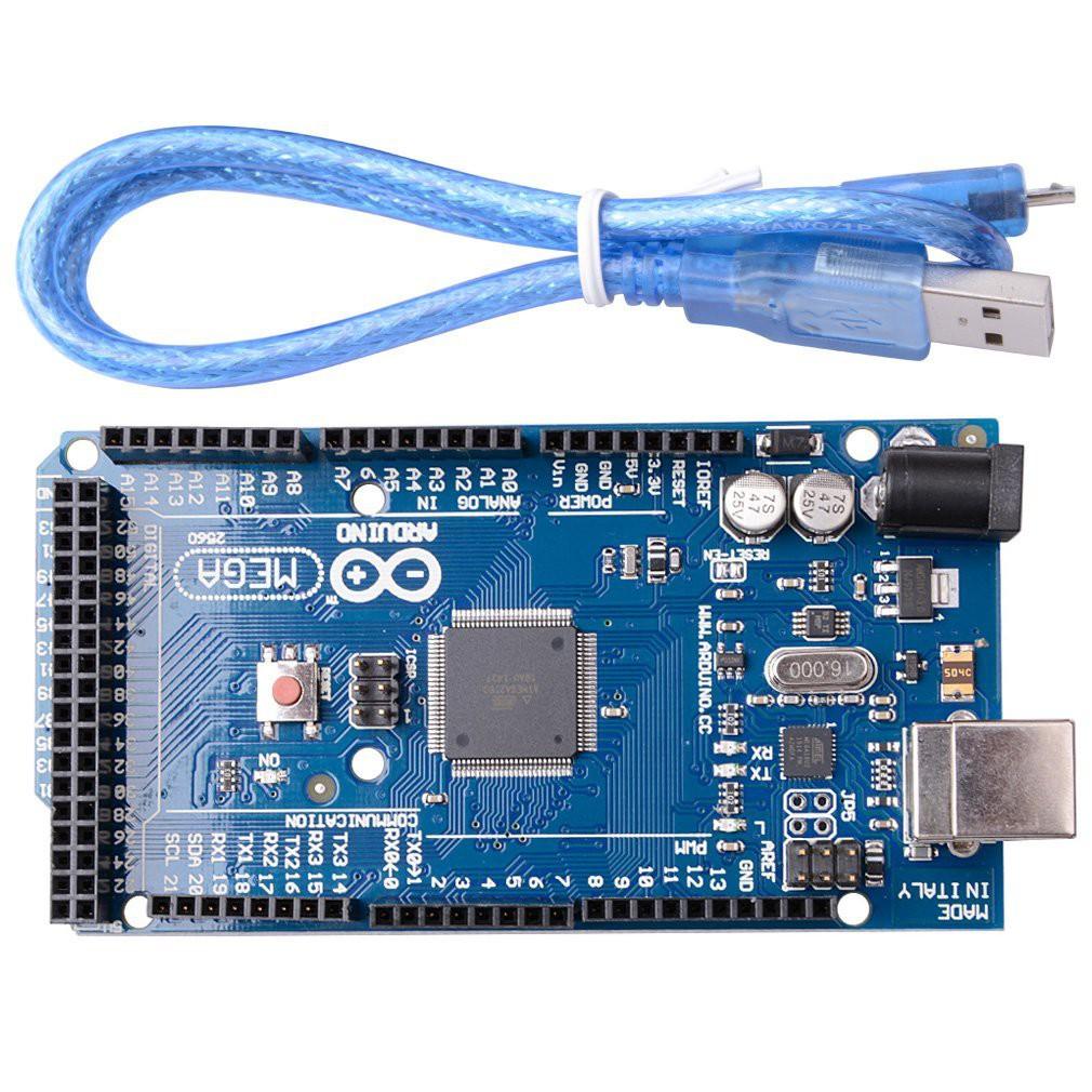 Cáp USB, tặng arduino mega 2560 :)