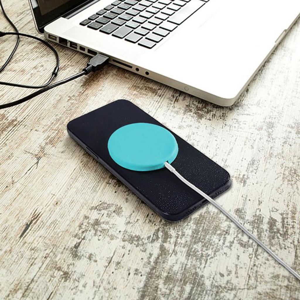 Bộ Sạc Không Dây Chống Nước Bằng Silicone Cho Magsafe Iphone 12