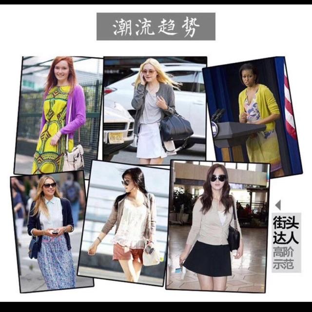 Áo khoác len áo cardigan thu đông 2017 hàng quảng châu