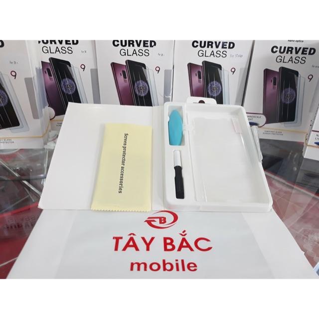Kính cường lực Full keo UV dành cho dòng điện thoại Samsung Galaxy S7edge, S8, S8+, S9, S9+, Note 8