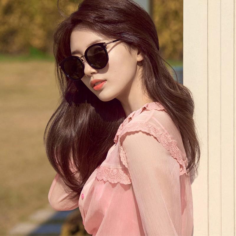 Kính Mát Thời Trang Hàn Quốc Phong Cách Retro