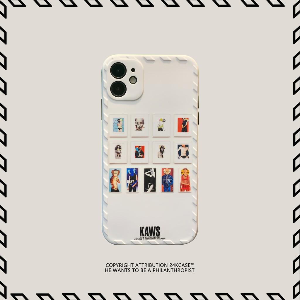 Ốp Điện Thoại Hình Kaws Sáng Tạo Cho Iphone 11