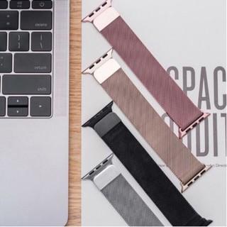 [Miễn Phí Vận Chuyển 50K] Dây đồng hồ Apple Watch Milanese loop thép - Bảo hành 6 tháng