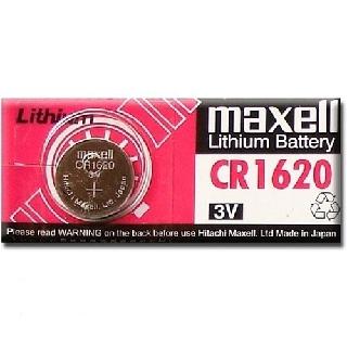 Vĩ 1 viên pin CR1620 Maxell lithium 3V