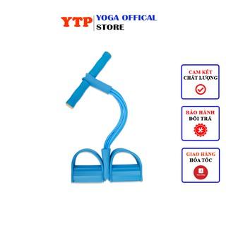 Dây Kéo Đàn Hồi 4 Ống YTPSDK04 Dây Kéo Kháng Lực Tập Thể Dục Tập Gym Tại Nhà Tập Toàn Thân Nâng Cao Sức Khỏe Nhiều Màu