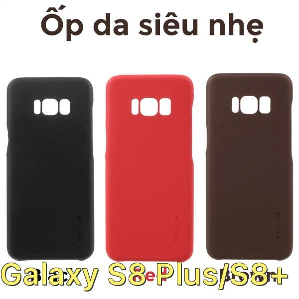 Ốp lưng bằng da siêu mỏng chính hãng G-Case cho Samsung Galaxy S8 Plus/S8+