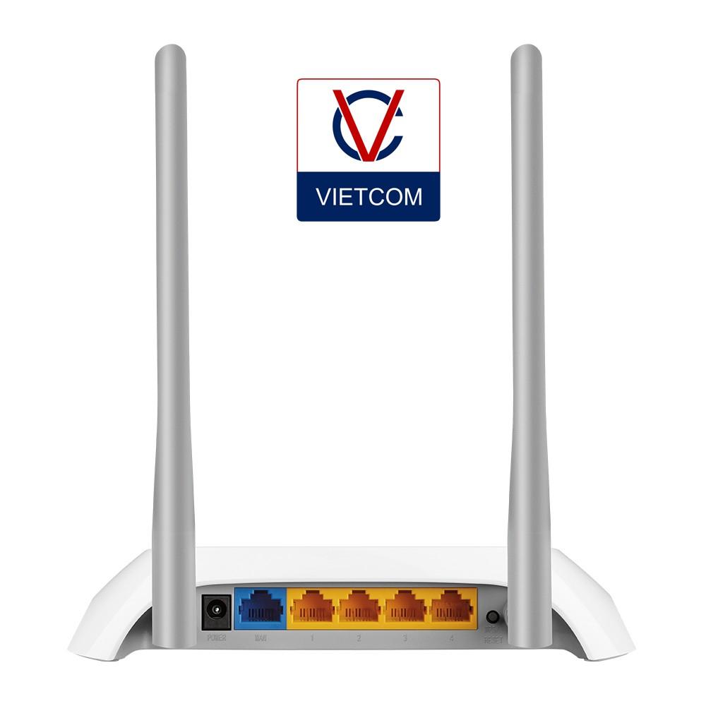Bộ Phát Wi-Fi Tp-Link TL-WR840N - Phiên Bản Mới - Hàng Chính Hãng Bảo Hành 24 Tháng